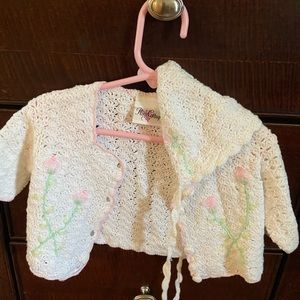 Other - crocheted baby outfit